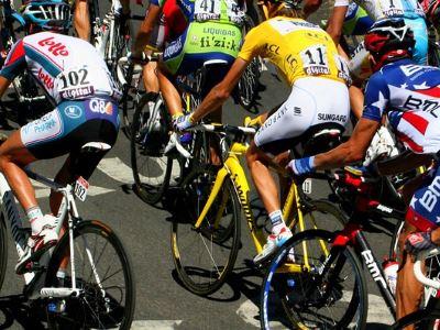 cyclists leg veins