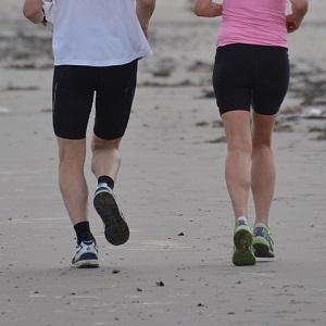 running varicose veins