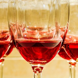 wine alcohol facial veins